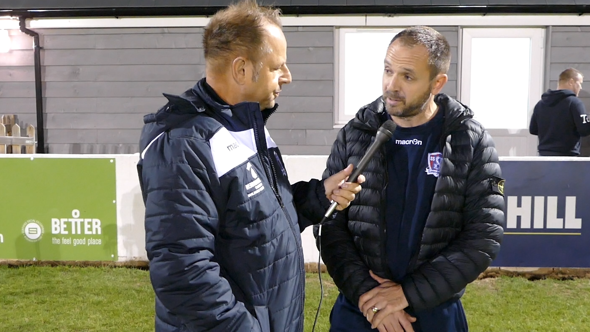 Lee Spalding post match after Cirencester Town