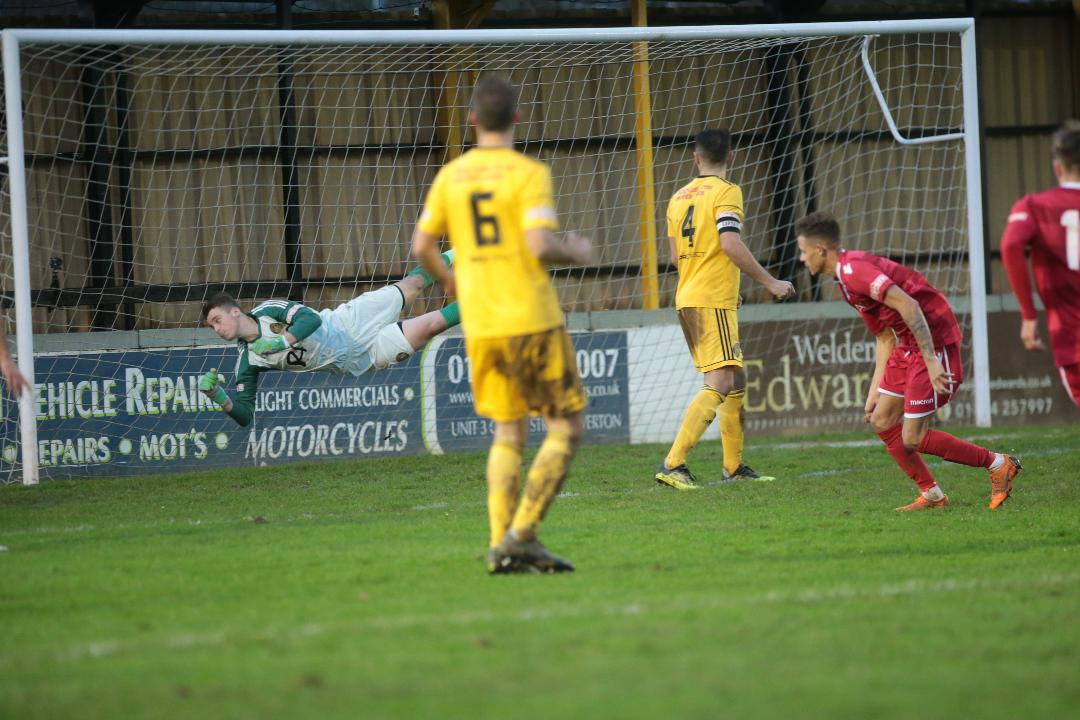 Ryan Campbell heads home our first equaliser