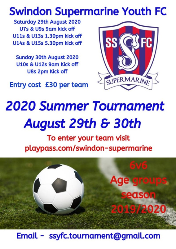 Youths Tournament Poster