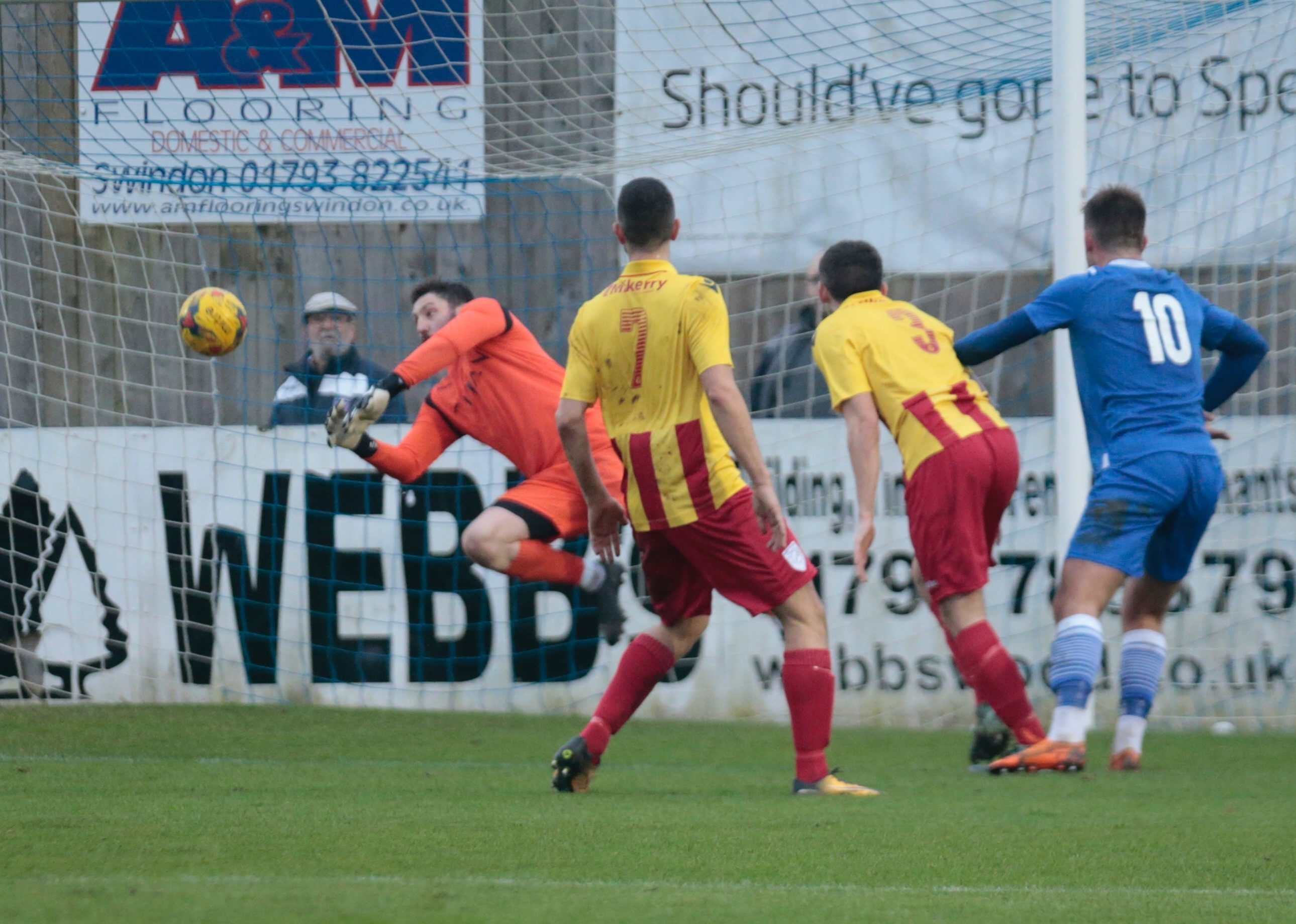 Conor McDonagh heads home our equalising goal
