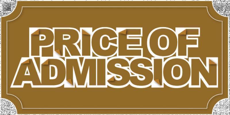 Admission Prices 2019/20
