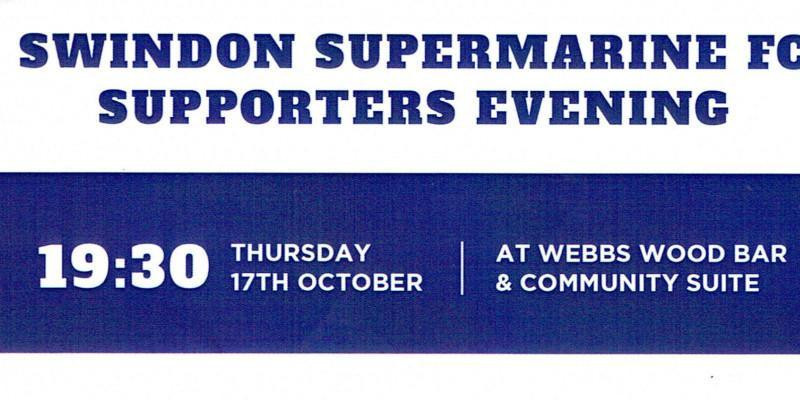 Swindon Supermarine Supporters Evening