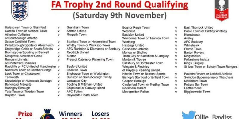 FA Trophy 2nd Qualyfing Round Draw