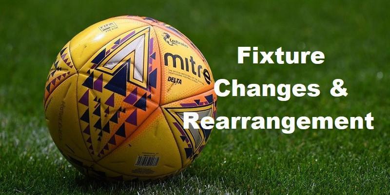 Fixture Changes & Rearrangement