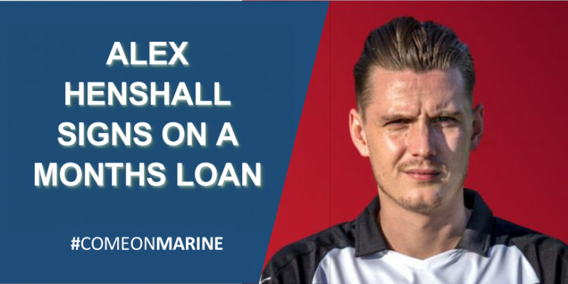 Alex Henshall signs for Marine