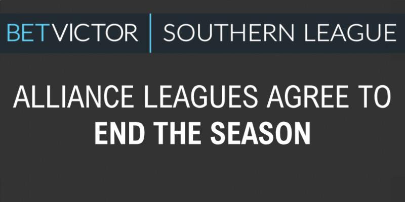 Alliance League agree to End the Season