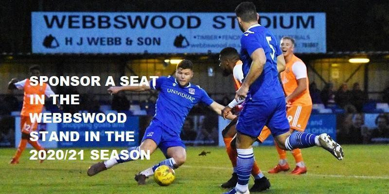 Seat Sponsorship in the Webbswood Stand