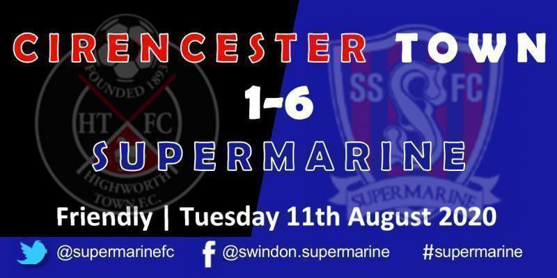 Cirencester Town 1 Marine 6