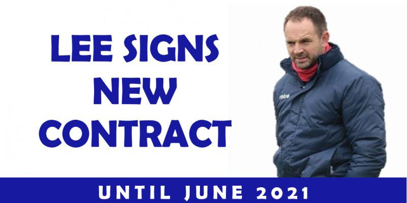 Lee Signs New Contract