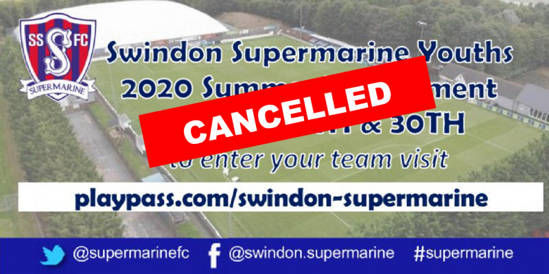 Youths Tournament Cancelled
