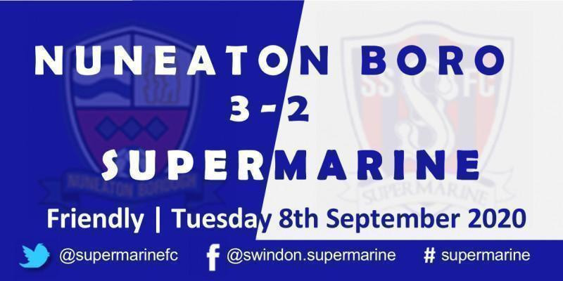 Nuneaton Borough 3 Marine 2