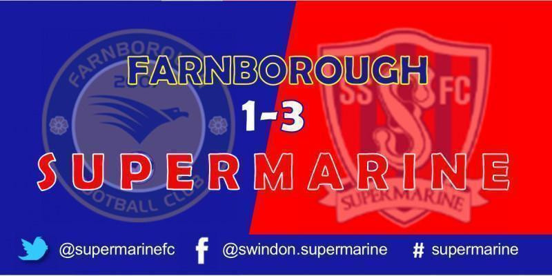 Farnborough 1 Swindon Supermarine 3