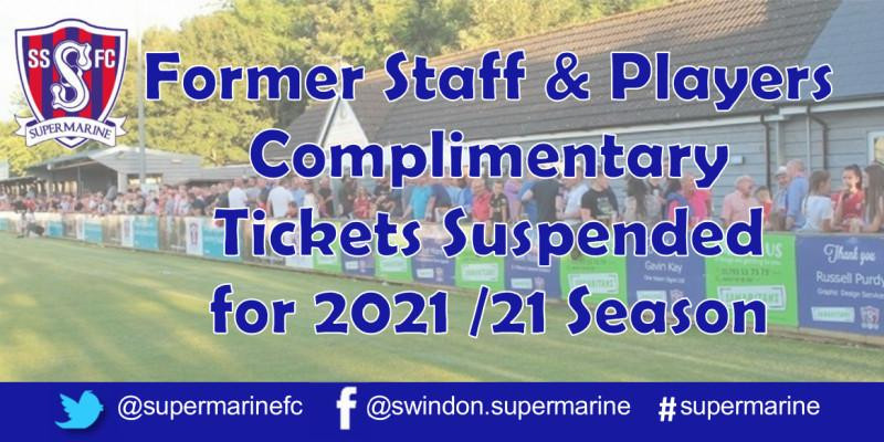 Former Staff & Player Comps Suspended