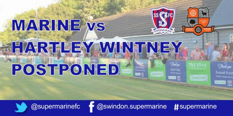 Marine vs Harley Wintney Postponed