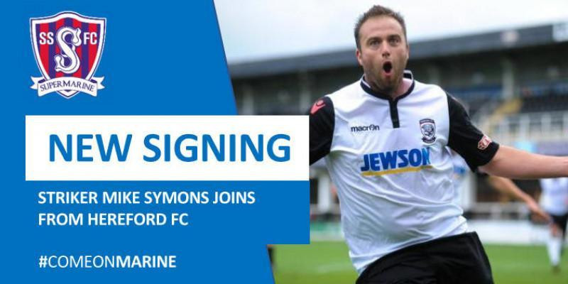 New Signing - Mike Symons