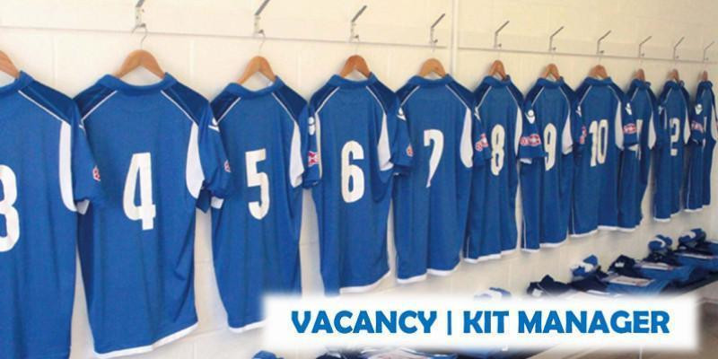 VACANCY | KIT MANAGER