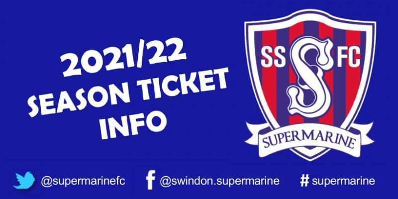 Season Ticket Application 2021/22