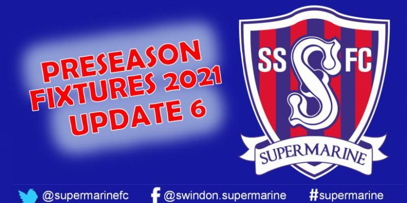 Preseason Fixtures 2021 Update 6