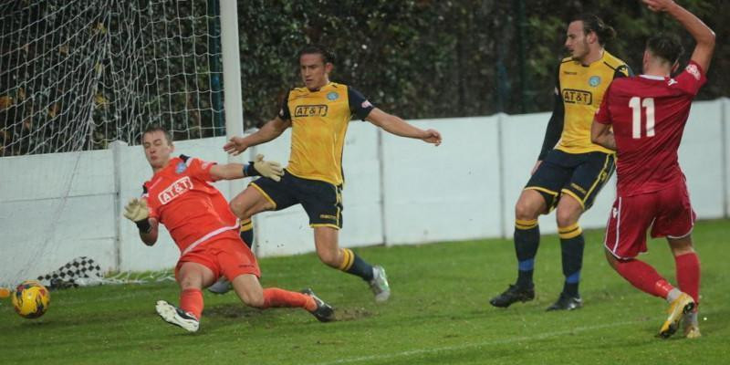 Staines Town 2 Marine 1