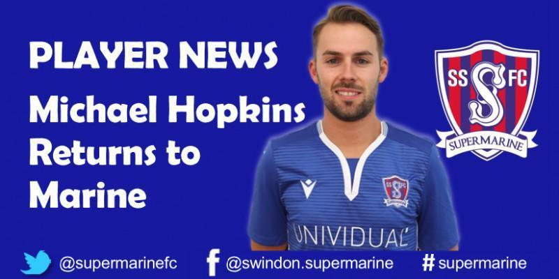 Michael Hopkins Returns to Marine