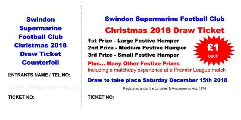 Christmas 2018 Draw Tickets