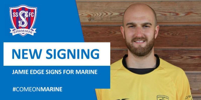 New signing - Jamie Edge