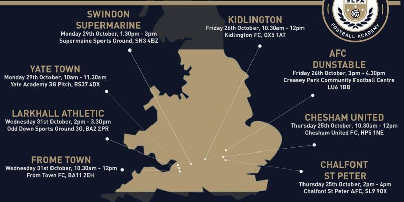Swindon Supermarine FC Academy Update